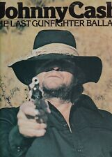 JOHNNY CASH	the last gunfighter ballad	HOLLAND 1979 EX  LP(LP2556)