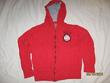 Ohio State Buckeyes Sweatshirt Hoodie Medium Kids or Women's OSU Zip Up