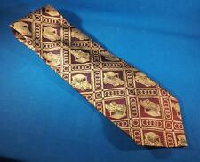 Vintage Golf Cart Wide Polyester Tie Necktie
