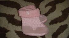 RALPH LAUREN INFANT BABY SZ 3 PINK BOOTS SHOES
