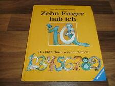 R.+ M. Rettich -- ZEHN FINGER HAB ICH / Bilderbuch von den Zahlen/Rechnen lernen
