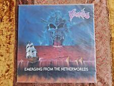 THANATOS Emerging From the Netherworlds LP RECORD VINYL death black metal rare