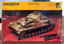 Vintage 1980 Testors-Italeri 1/35 Scale Panzer IV German WWII Tank Kit 808, NIOB