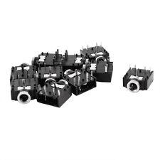 10 Pcs DIP PCB Mount 5 Pins 3.5mm Socket Headphone Stereo Audio Jack N3