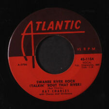 RAY CHARLES: Swanee River Rock / I Want A Little Girl 45 (close to M-)