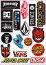 Sticker Sheet for Skate Skateboard BMX Scooter Car Window Bumper Stickers