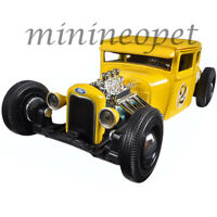 MAISTO 31354 OUTLAWS 1929 FORD MODEL A #2 1/24 DIECAST MODEL CAR YELLOW