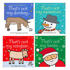 Thats Not My Christmas Collection 4 Books Setby Fiona Watt 9788729107347