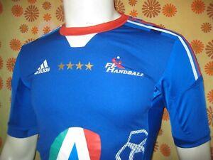 Ancien MAILLOT ADIDAS EQUIPE DE FRANCE FFH HANDBALL T6 Shirt Hand Ball Sport