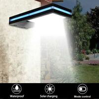 LED Solar Power Motion Sensor Garden Security Lamp Outdoor Waterproof Light 144