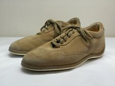 Men's HOGAN Brown Suede Leather Sneakers Size US 8 UK 7