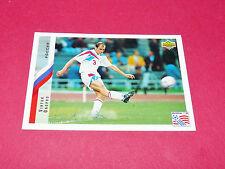 VIKTOR ONOPKO RUSSIE FIFA WC FOOTBALL CARD UPPER USA 94 PANINI 1994 WM94