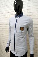 DOLCE GABBANA Camicia Shirt Man Taglia S Maglia a Righe Slim Fit Autentica ITALY