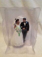 "WILTON Wedding Cosmopolitan Couple Cake Topper ""Only the Beginning""~~ NEW~~1998"