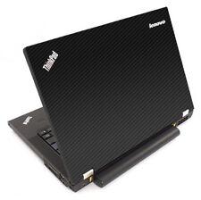 3D CARBON FIBER Vinyl Lid Skin Cover Decal fits IBM Lenovo ThinkPad T440P Laptop