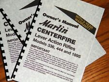 MARLIN Lever Action 336 444 1895 Centerfire Rifle OWNERS MANUAL