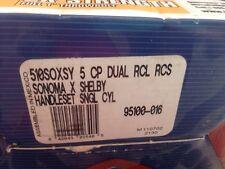Kwikset 510SOXSY HANDLESET 5 CP DUAL RXL RCS