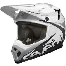 Bell Mx9 MIPS Motocross Enduro Helmet Seven Ignite Matte White Black Medium