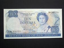 ***Superb** $10 Replacement Crisp  'GEF'  Hardie New Zealand  Banknote***
