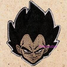 Vegeta Face Patch Dragon Ball Z DBZ GT Goku Piccolo Master Roshi Embroidered