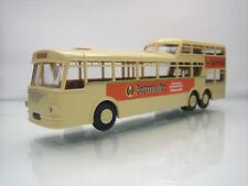Brekina Bussing Jagermeister Bus Beige/Orange 1/87 Scale Good Condition