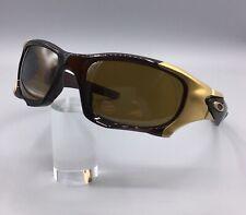 Oakley Sunglasses Pitboss II Rootbeer Tungsten Iridium Polarized + Kitsock