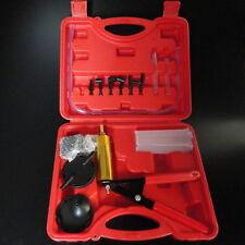 Brake Bleeder Tester Hand Held Vacuum Pump Set Car Motorcycle Garage Tool Pretty