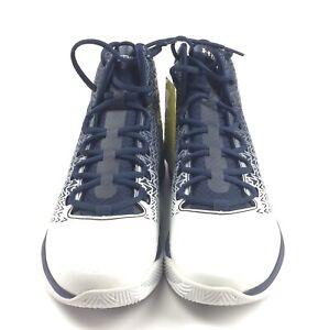 New Under Armour Men's US Size 9 Basketball Shoe ClutchFit Drive 3 Navy White