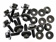 Ford Bolts & Flange Nuts- M8-1.25mm Thread- 13mm Hex- Qty.10 ea.- #128