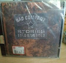 STORIES TOLD AND UNTOLD BAD COMPANY CD NUOVO