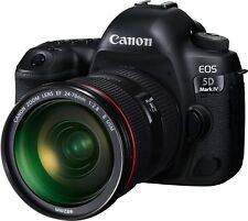 New Canon EOS 5D Mark IV with EF 24-70mm f/2.8L II USM