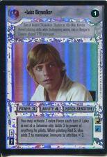 Star Wars CCG Reflections I Foil Card Luke Skywalker