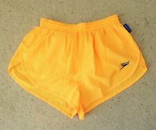 Mens Vintage Speedo Size M L High Cut Nylon Swimming Shorts Trunks Beach Runner