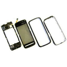 100% Genuine Nokia 5800 fascia housing+digitizer touch screen+side button Silver
