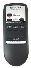 Sharp G0084TA Camcorder Wireless Remote Control VLA10K VLA10T VLA10U VLA10UA