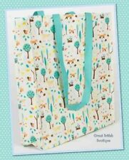 Quirky Sass & Belle Whimsical Woodland Reuseable Shopping Bag -Foldaway Durable!