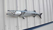 "49"" Barracuda Half Mount Fish Replica"