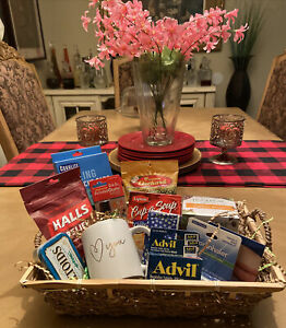 GET WELL GIFT BASKET Thinking Of You Care Package
