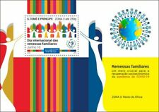 More details for sao tome & principe stamps 2020 mnh family remittances zona 3 upu corona 1v s/s