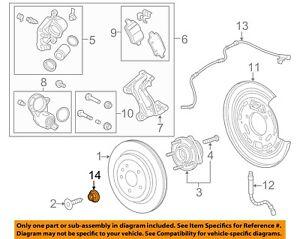GM OEM-Axle Nut 11612295