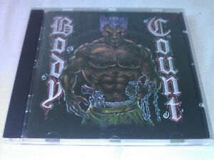 Body Count - Body Count (CD, Jewelcase, 1992) Rock Crossover