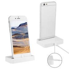 iPhone Dockingstation Ladestation für Apple iPhone SE in schwarz oder weiß