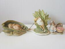 Border Fine Arts Beatrix Potter Figurines x 3  BPM7 BP22 A0621
