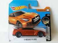 2017 Hot Wheels 17 Nissan GT-R (R35) Copper Diecast Metal Toy Car 1:64 VERY RARE
