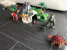 Playmobil 5230 - Vulkan-Set mit Dinos - T-Rex Saichania Triceratops + Extras