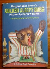 Golden Sleepy Book Margaret Wise Brown Garth Williams HC 1948 Golden Press