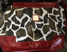 Miche Collectible Prima LEXI glossy Red giraffe print magnetic purse shell