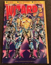 Wizard Magazine 15 NOVEMBER 1992 Wetworks X-Men Shatner