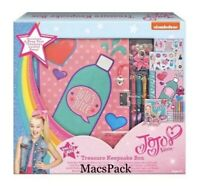JOJO SIWA  JOJO's Juice Treasure Keepsake Box  Gift Set W/ Stickers Pens Jewelry