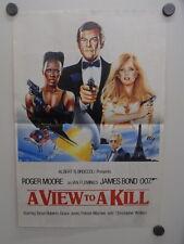 Poster NL weekblad 1985 / ca.A3 / 007 A View to A Kill Grace Jones (e-03052)